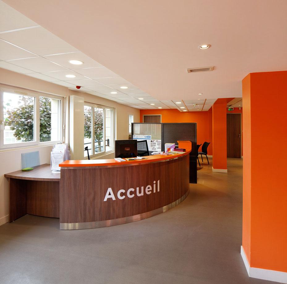Bureau CLICHY – Accueil