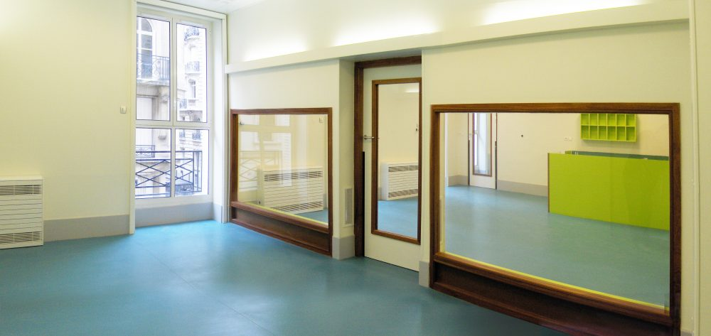 Creche Daubigny – Salle de repos