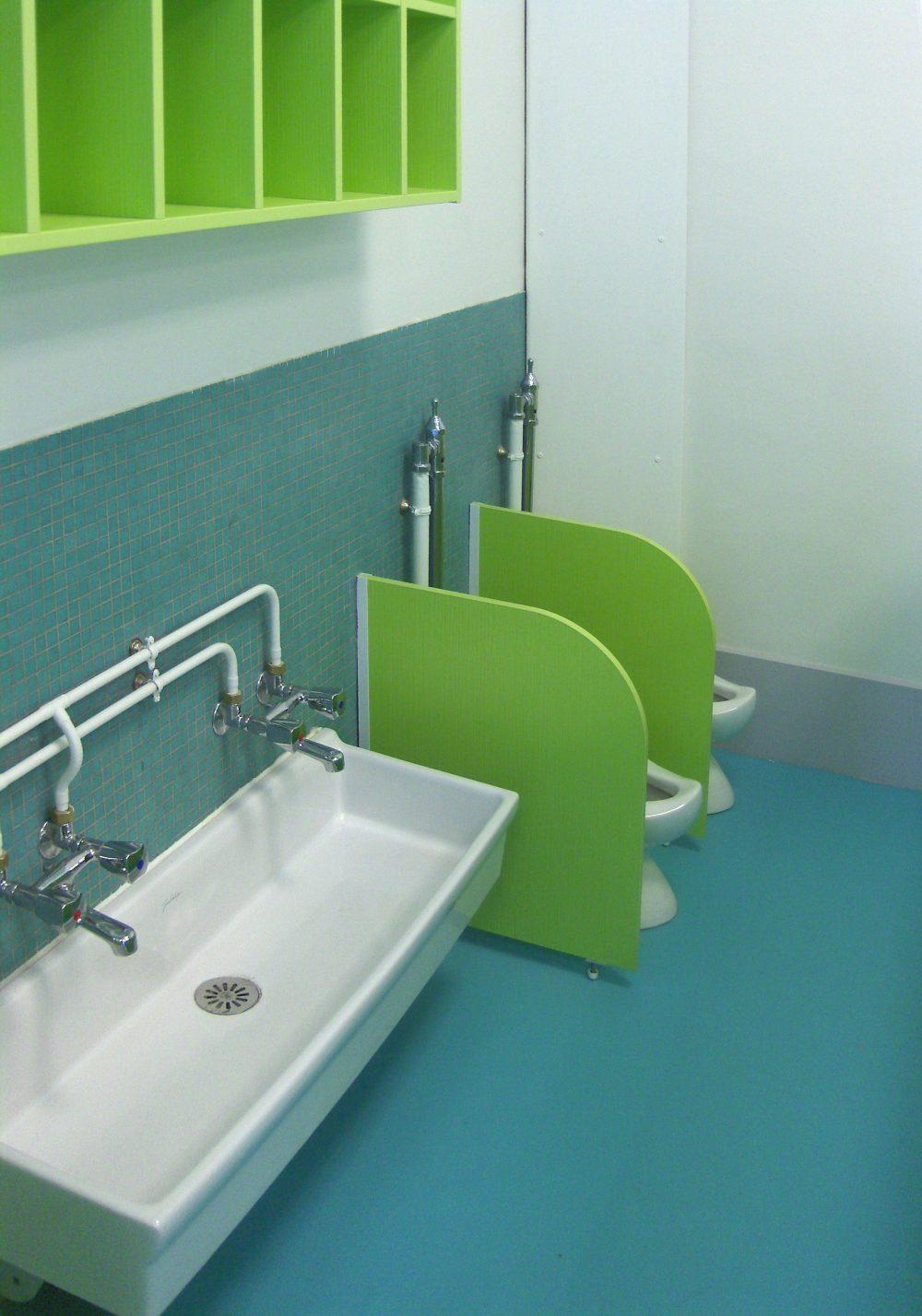 Creche Daubigny – WC moyens
