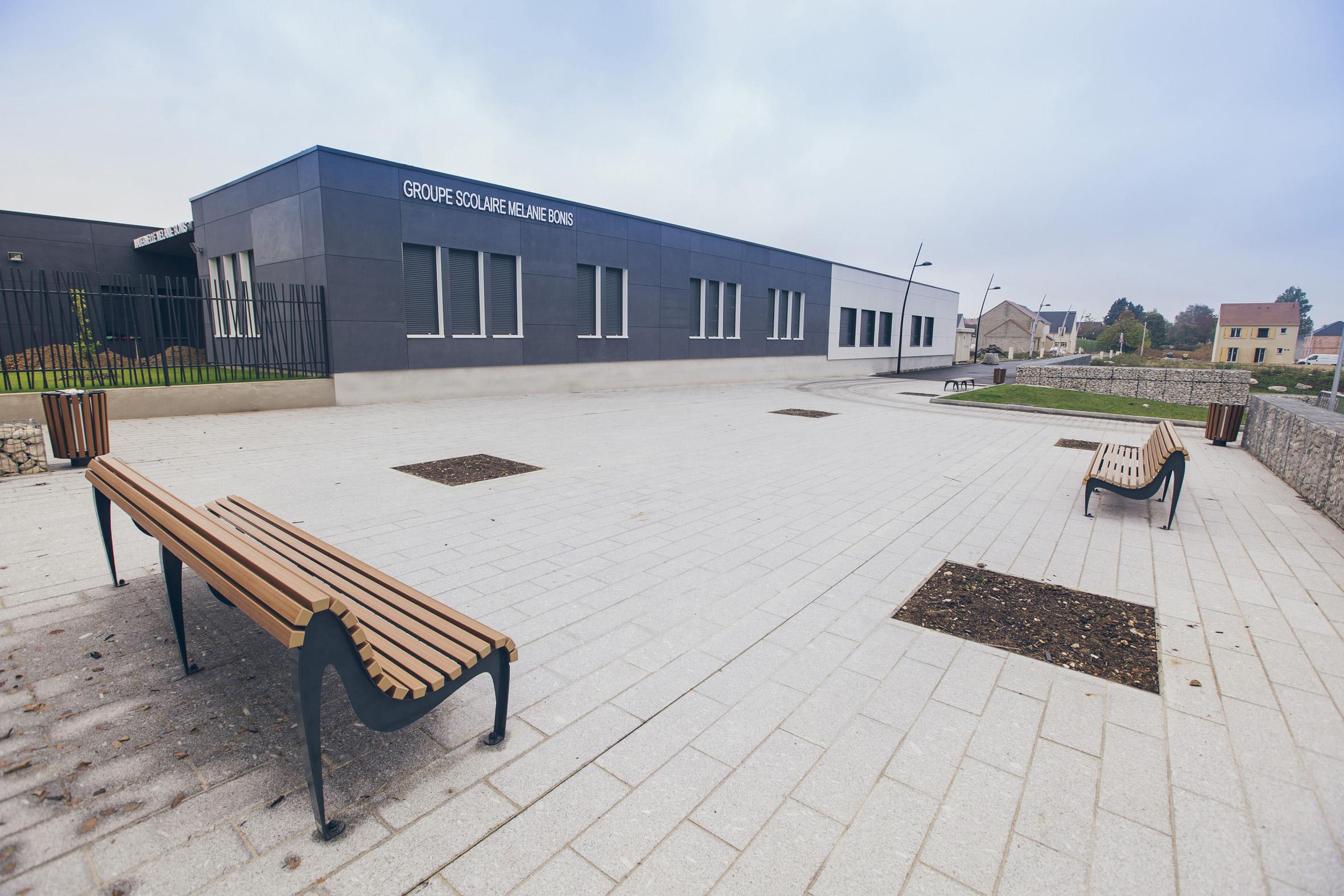 Villecresnes facade maternelle