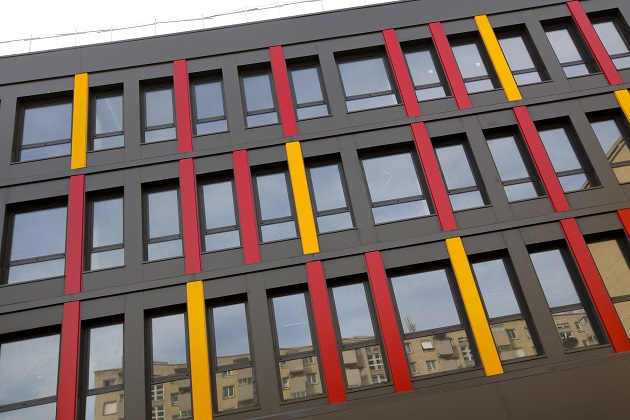 Chantier des bâtiments modulaires
